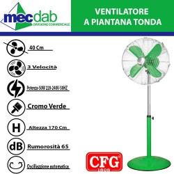 Ventilatore a Piantana Regolabile in Altezza Max 170 cm  50W EV041 CFG