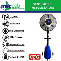 Ventilatore Nebulizzante da Esterno 230 W  Diametro: 71,5 cm Libeccio Mist Fun CFG