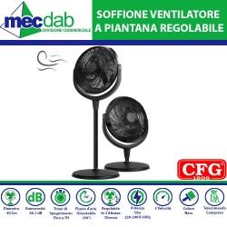 SOFFIONE Ventilatore a piantana regolabile