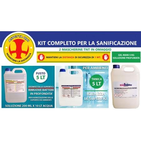 Kit di Sanificazione Essenziale Per Aziende
