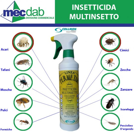 Insetticida Multinsetto Permetar 500ml