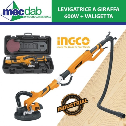 Lievigatrice a Giraffa 600W Con Valigetta ed Accessori Inclusi
