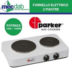Fornello Elettrico 2 Piastre 1000/1500 W Parker 5322P