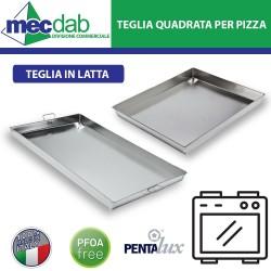 Teglia in Latta Pentalux Professionale Per Forno Pasticcerie e Pizzerie