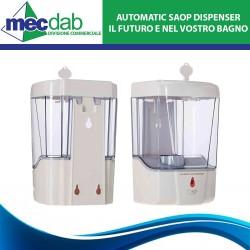Dispenser di Sapone Automatico con Sensore ad Infrarossi 600ml
