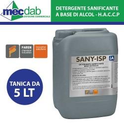 Detergente Sanificante a Base Alcool 5 LT Sany ISP H.A.C.C.P