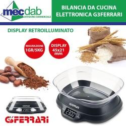 Bilancia Elettronica da Cucina 1gr/5 KG Max Ad Alta Precisione G3Ferrari Ginny