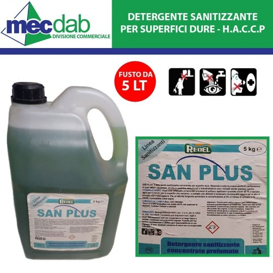 Detergente Sgrassatore Industriale Bifasico B50 Redel Uso Professionale - HACCP