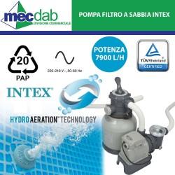 Pompa Filtro a Sabbia 7900 L/H Per Piscine - INTEX 28646