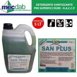 Detergente Sanitizzante Concentrato 5 LT Redel - HACCP