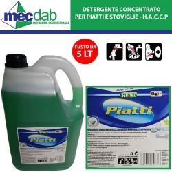 Detergente Lavapiatti Concentrato 5 LT Redel PH Neutro - HACCP