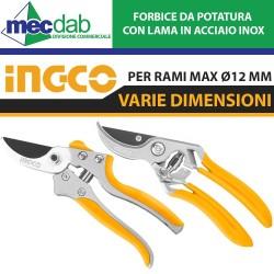 """Sega Pieghevole Industriale a Serramanico Porta Rami Ingco HFSW1808 180mm (7"""") 7TPI"""