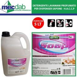 Detergente Lavamani Profumato Per Dispenser Sapone Redel SOAP - HACCP