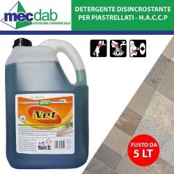 Detergente Disincrostante Per Piastrellati 5 LT Pulizia Malta da Pavimenti HACCP