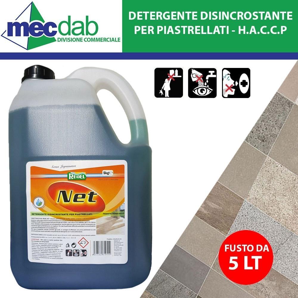 Detergente Per Cotto Esterno detergente disincrostante per piastrellati 5 lt pulizia malta da pavimenti  haccp