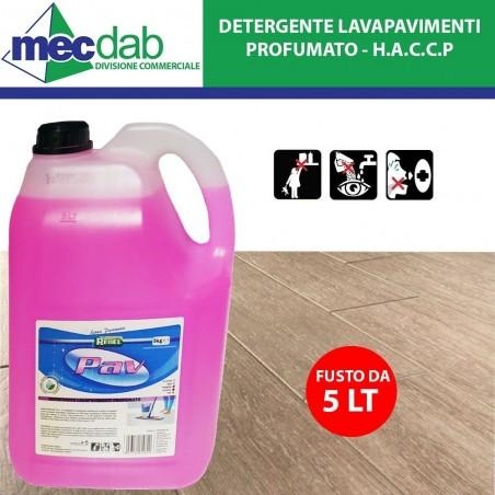 Detergente Lavapavimenti 5 LT Profumato ai Fior di Loto Redel PAV - HACCP