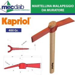Martellina Malapeggio 400Gr Manico in Legno Kapriol