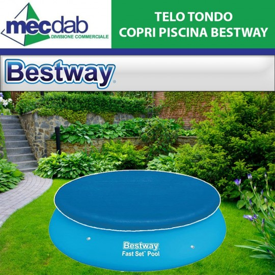 Telo per Piscina Tondo  Bestway Diametro 3,05 Metri