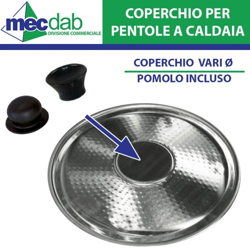 Pomoli Per Coperchi Pentole Caldaia in PVC Varie Dimensioni