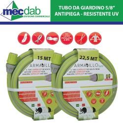"Tubo Irrigazione Da Giardino 5/8"" Superleggero Antipiega Resistente Raggi UV"