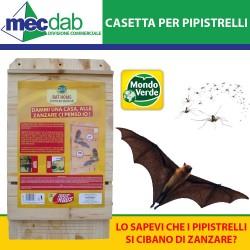 Casetta Per Pipistrelli in Legno Bat Home Mondo Verde