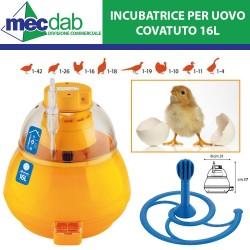 Incubatrice Covatutto 16L Per Pollicoltura e Selvaggina Cavo 120 Cm 230V - 42W