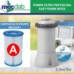 Pompa Filtro Per Piscina Easy-Frame Intex Doppio Isolamento Intex 28604