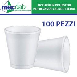 Bicchieri Termici Monouso Termici per Bevande Calde e Fredde 100PZ - Varie Capacità