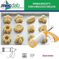 Spara Biscotti Tescoma con 6 Beccucci in Plastica