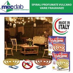 Spirali Profumate  Vulcano alla Citronella / Geranio Contro le Zanzare Confezione da 10 Pezzi