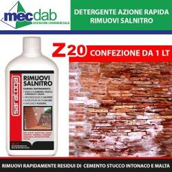 Rimuovi Salnitro Disincrostante Acido Multiuso Muri e Pavimenti Saratoga Z20 1LT