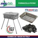 Barbecue Fornacella Made in Italy Picnic 37 x 27 Cm Filcasalinghi