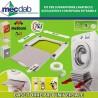 Kit di Sovrapposizione per Lavatrice ed Asciugatrice Universale con Ripiano