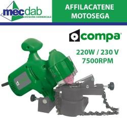 Affilacatene Motoseghe Unversale Elettrica 230V / 220W 7500 Giri Min.