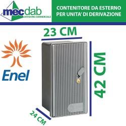 Cassetta Enel Contenitore per Contatore Monofase 230V ARE/GMI-Y Serratura SC/1