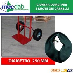Camera D'aria per Ruota Carrello da Ø 250 mm