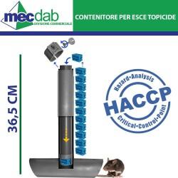 Contenitore per Esche Topicide Certificato H.A.C.C.P