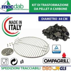 Kit di Trasformazione da Pellet a Carbonella per Barbecue EDDI-PELLET-4780-PRO  Ompagrill 480