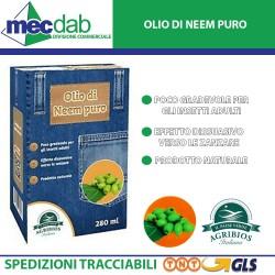 Insetticida per Piante Olio Naturale di Neem 280 ml