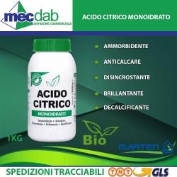 Acido Citrico Monoidrato Biologico Marten 1Kg