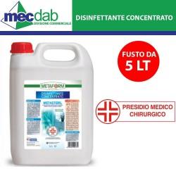 Disinfettante Concentrato 5LT Per utilizzo Sanitario Metaform