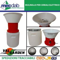 Mulino Per Cereali Elettrico Macchina Macinatrice 230V ValGarden