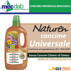 Concime Universale Biologico Per Fiori e Ortaggi 1LT Naturen KB Agricoltura Bio