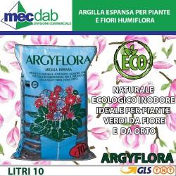 Argilla Espansa Per Piante e Fiori Litri 10 Humiflora