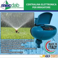 """Centralina Elettronica per Irrigatore 9V 1"""" 3/4"""" Acqua Driver Unìflex"""