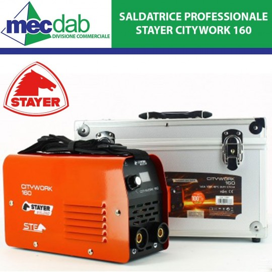 Saldatrice Professionale 160A Stayer CityWork 160