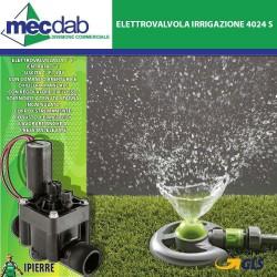 """Elettrovalvola irrigazione da  1""""F Entrata1""""F - Uscita 1""""F 24V Ipierre Art. 4024 S"""