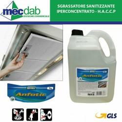 Sgrassatore Per Cappe iper concentrato Anfotic da 5LT - HACCP Redel
