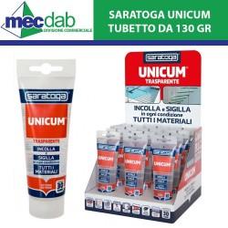 Saratoga Unicum Trasparente 130gr Colla Universale Sigillante Interno ed Esterno
