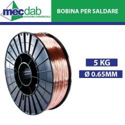 Bobina per Saldatrice a Filo SG2 - Ø 0.60 mm 5 Kg